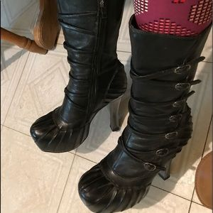 *Overdraft Sale, TODAY* New Rock high heeled boots